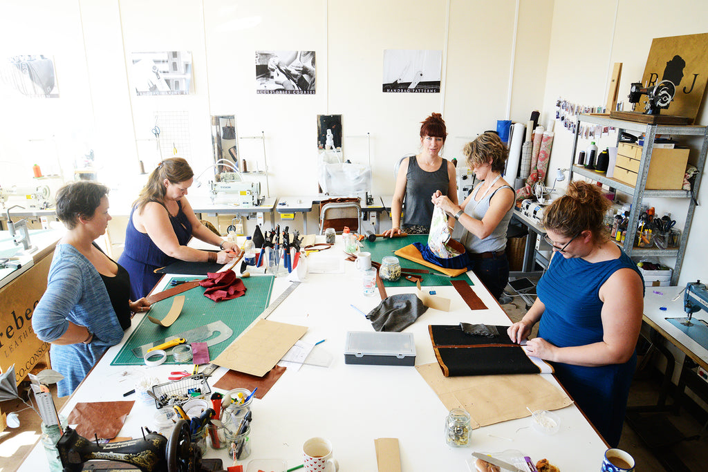 2 Day Leather Handbag Making Course - Beginners/Intermediate £220