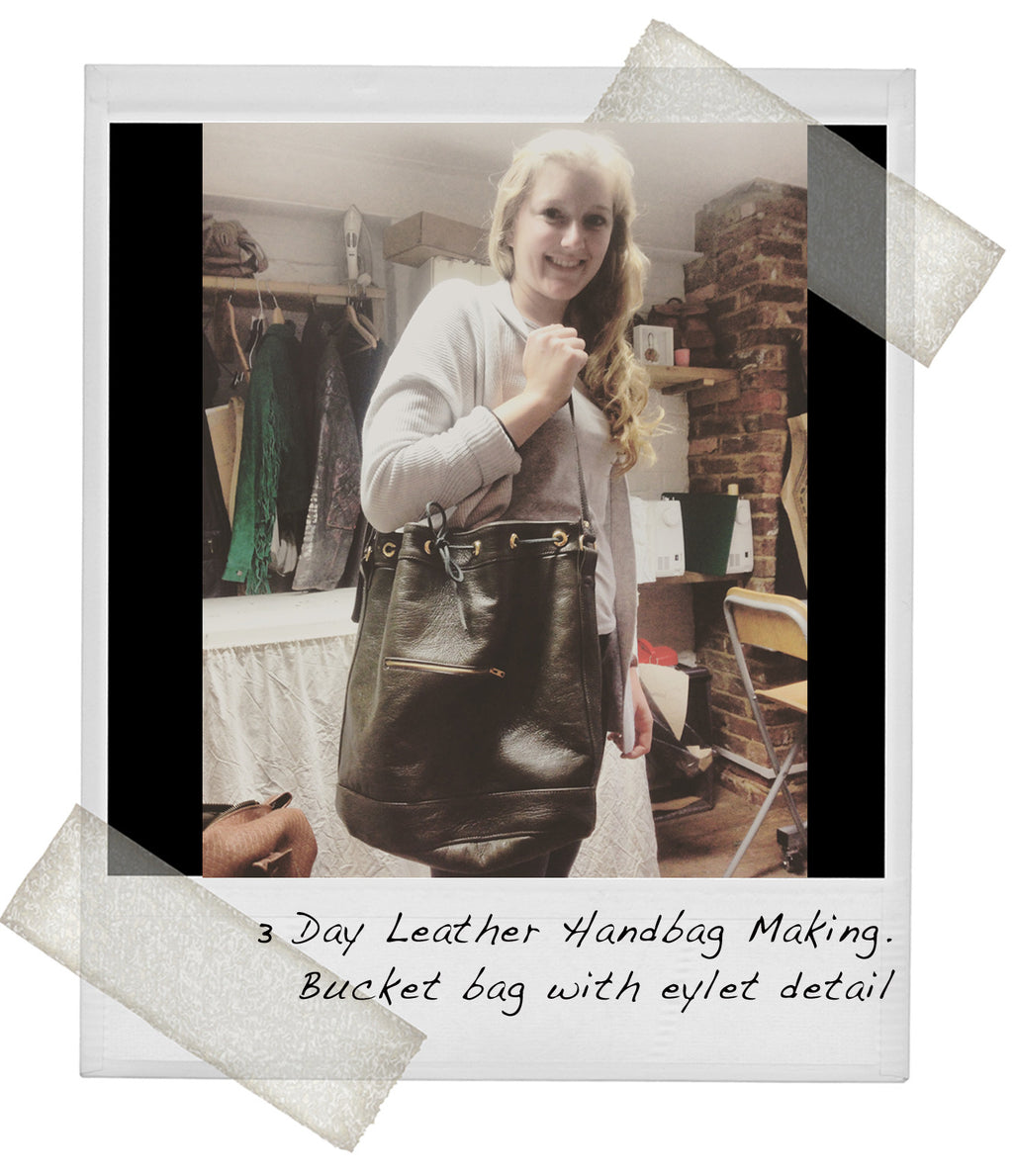 1  Day Pattern cutting + 2 Day Leather Handbag Making Course
