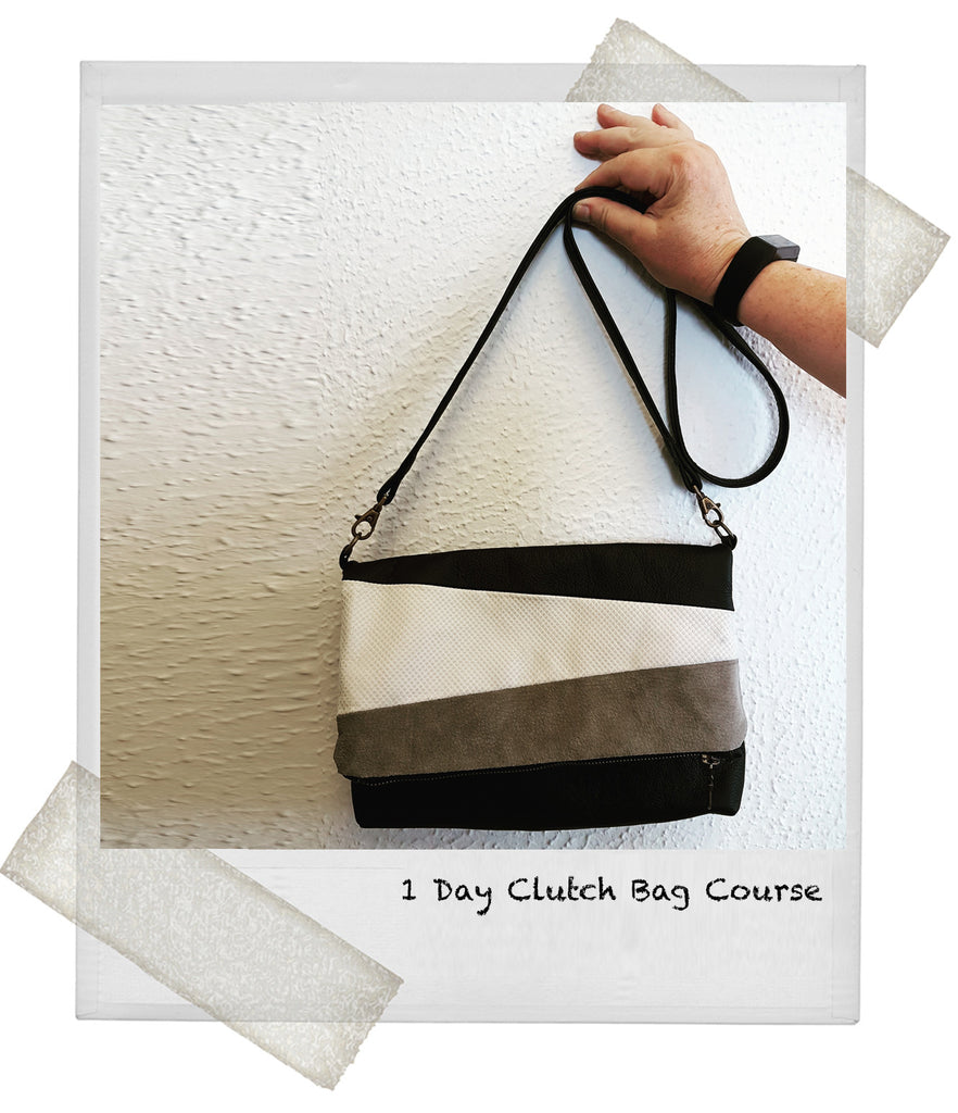 1 Day Leather Clutch Bag Making