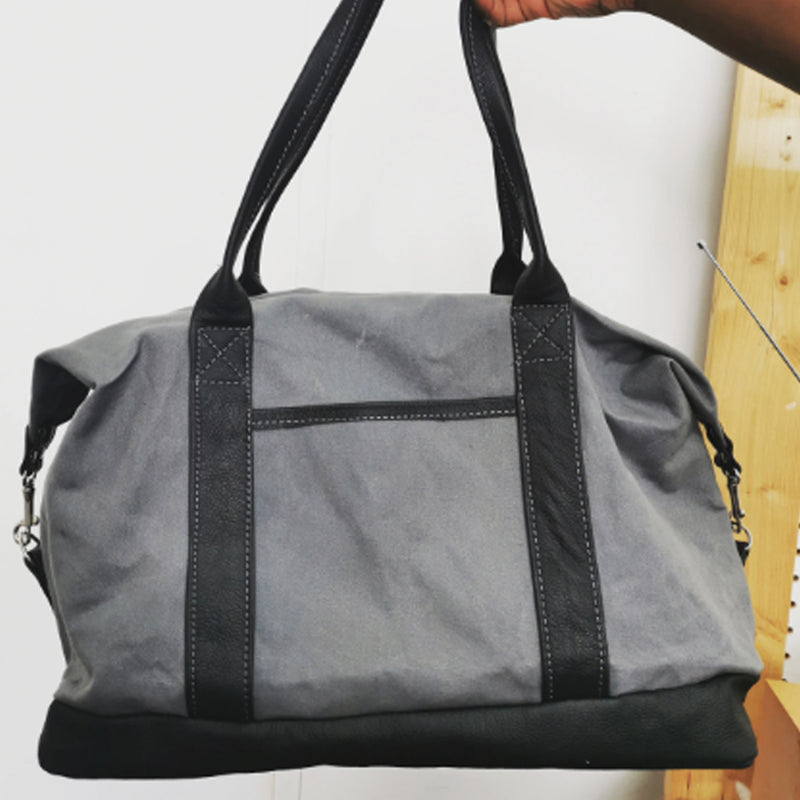 1 Day Leather & Canvas Duffle Bag Course - £149