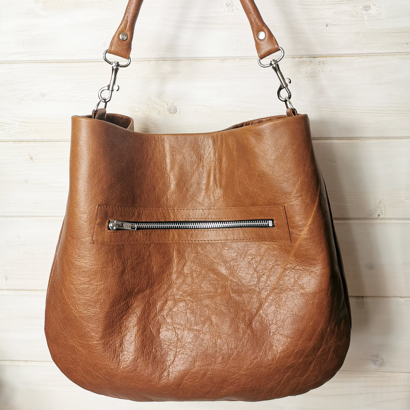 1 Day Leather Hobo Handbag Making Course - £149