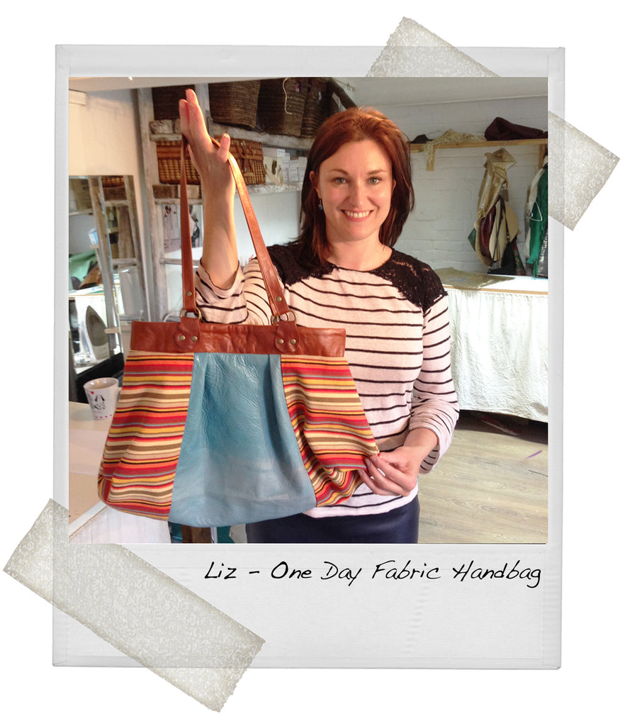 1 Day Beginners Fabric Handbag Course
