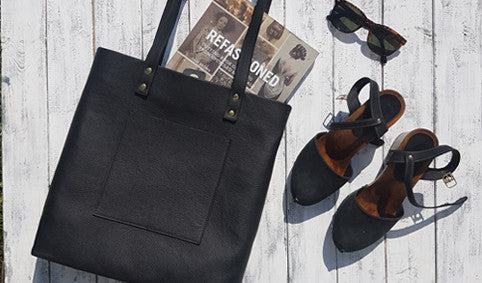 Leather Tote Handbag Paper Pattern - £20 – RJ Leather Sewing School