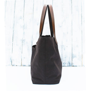 Waxed Cotton T-Base Tote paper Pattern - £20