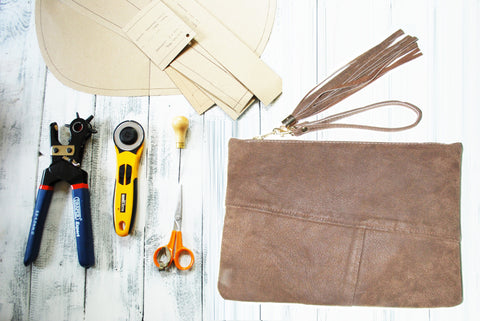 1 Day Introduction to leather & sewing handbags - £120