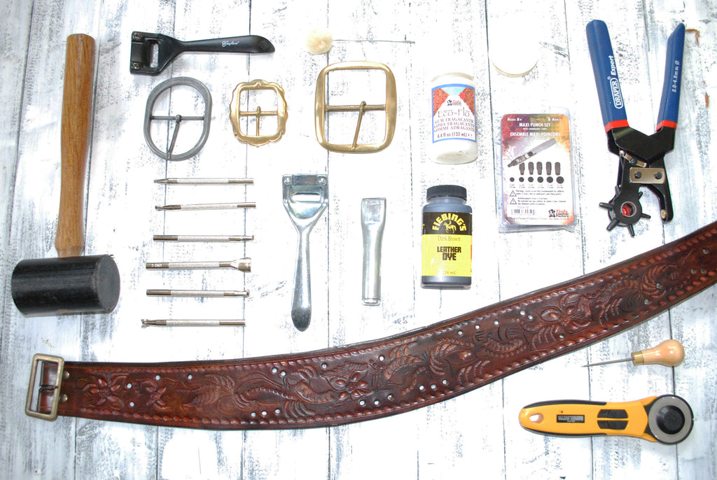 3 Hour Belt Making Course £65