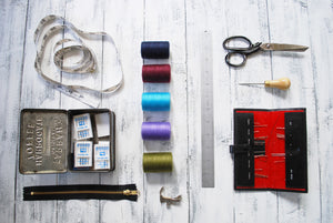 Drop in classes for leather & sewing handbags - £15 per hour