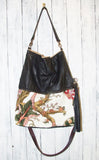TW Inimitable Bag with Tropical White background Vintage Fabric