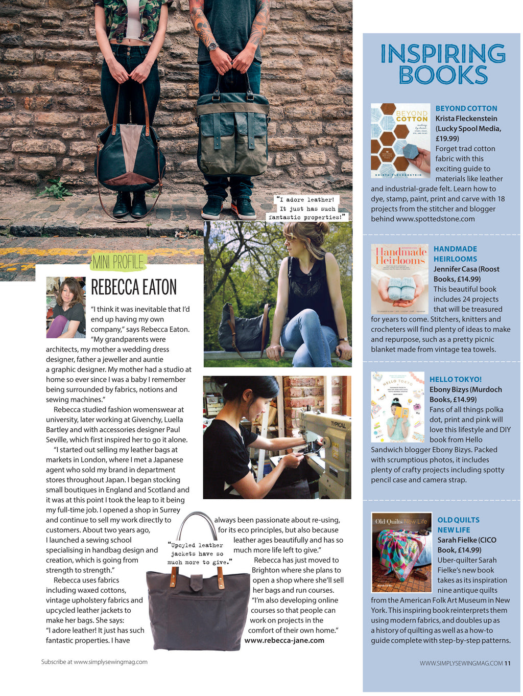 Simply Sewing Magazine - Nov 2015