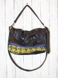 TW Inimitable Bag with Yellow Vintage Upholstery Fabric