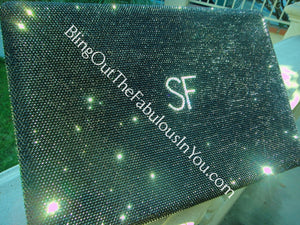 17 Inch Macbook Pro Swarovski Laptop Cover With Initials Macbook