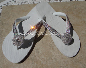 Havaianas Bridal Flip Flops are a must have for every bride and her bridesmaids!