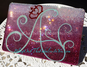 A Queen Swarovski 15 Inch Macbook Pro Cover