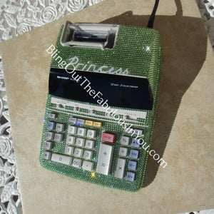 Custom Swarovski Desktop Calculator