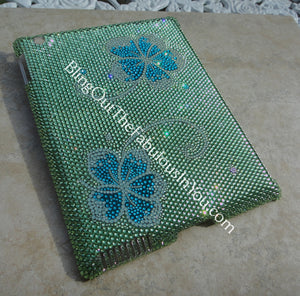 Hawaiian Flower Swarovski Apple Ipad Cover