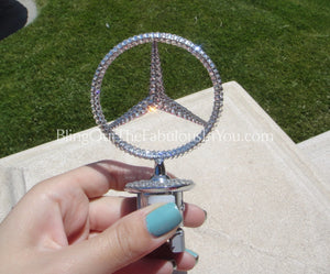 Mercedes Benz Pop Up Swarovski Emblem