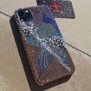 Mermaid Vibes Swarovski Iphone 11 Pro Cover (Effects Color)