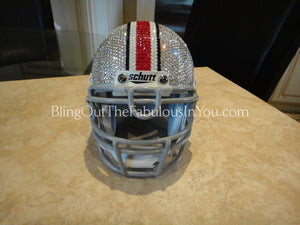 Ohio State Buckeyes Swarovski Mini Football Helmet