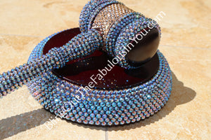 Swarovski Crystal Judges Gavel (Effects Colors)