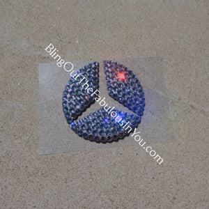 Swarovski Crystallized Mercedes Benz Steering Wheel Emblem
