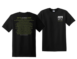 Official 2017 DC JazzFest Shirt - Multiple Styles
