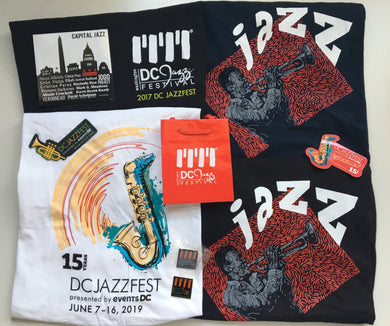 DCJF Jazz Up Your Closet Merch Bundle (S/M)