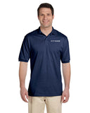 FITTEAM Men's 50% poly 50% Cotton Polo Shirt