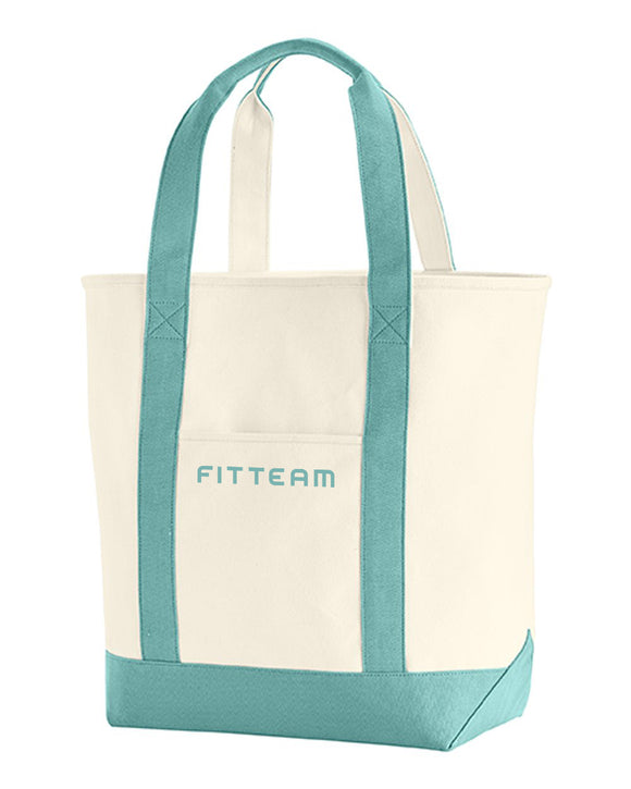 FITTEAM Canvas Heavy Tote