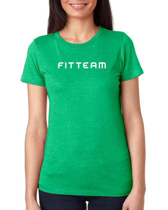 FITTEAM Women's Tri-blend T-shirt