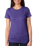 FITTEAM Women's Race Triblend T-shirt