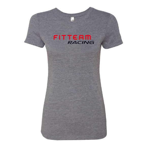 FITTEAM Racing Women's Tri-blend T-shirt