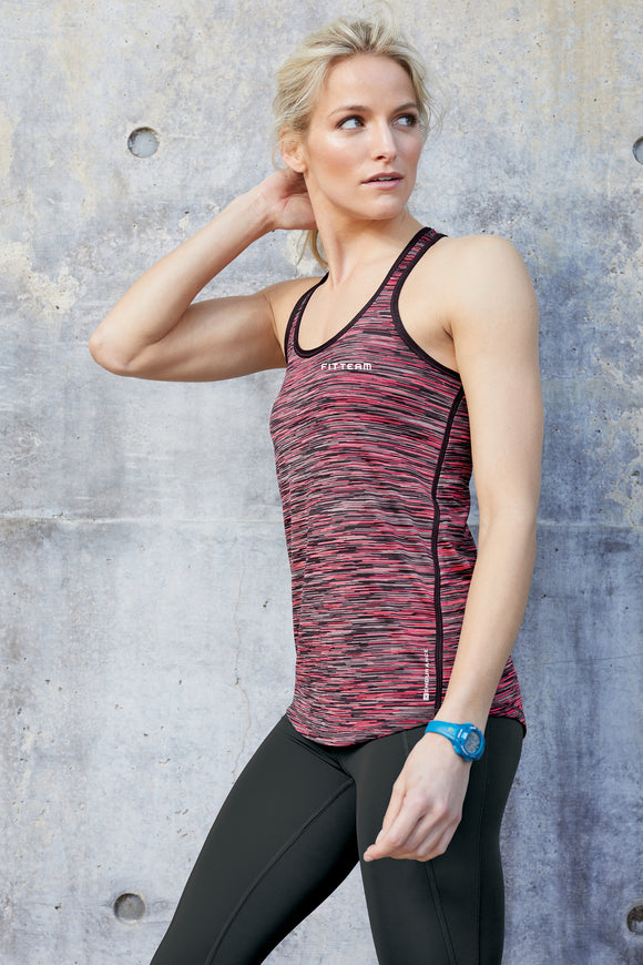 FITTEAM Women's Endurance Verge Racerback Tank