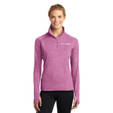 FITTEAM Women's Athletic 1/4 Zip Pullover