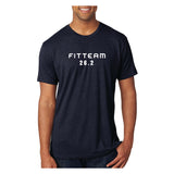 FITTEAM Men's Race Tri-blend T-shirts