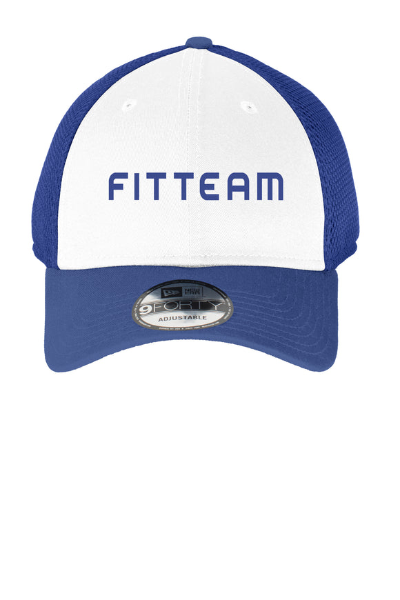 FITTEAM SNAPBACK FRONT MESH CAP
