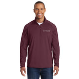 FITTEAM Men's Athletic 1/4 zip Pullover
