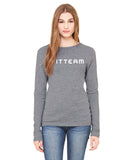 FITTEAM Women's Long Sleeve T-shirt