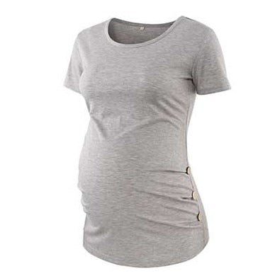 Solid Maternity Tee