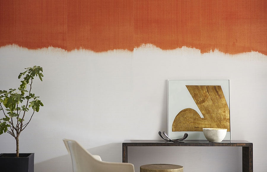 Philip Jeffries Orange Top Wall Covering