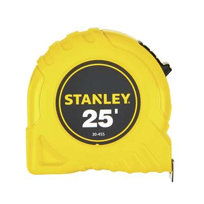 Stanley 25 ft. L x 1 in. W Tape Measure 30455-Exeter Paint Stores