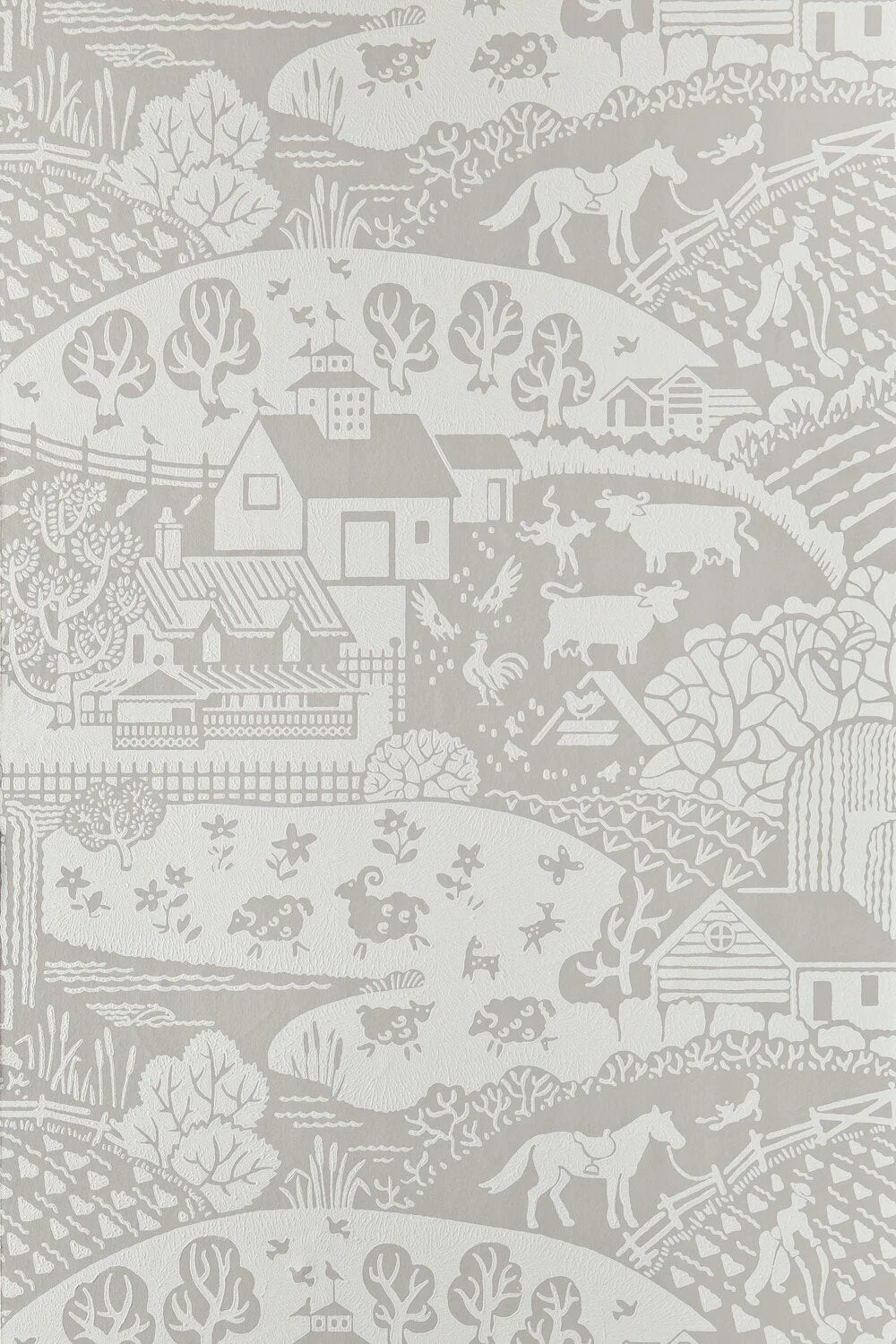 Farrow & Ball Wallpaper Gable-Exeter Paint Stores