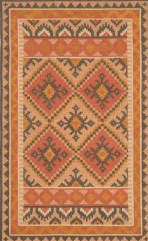 DASH & ALBERT REED KILIM WOVEN WOOL RUG-Exeter Paint Stores