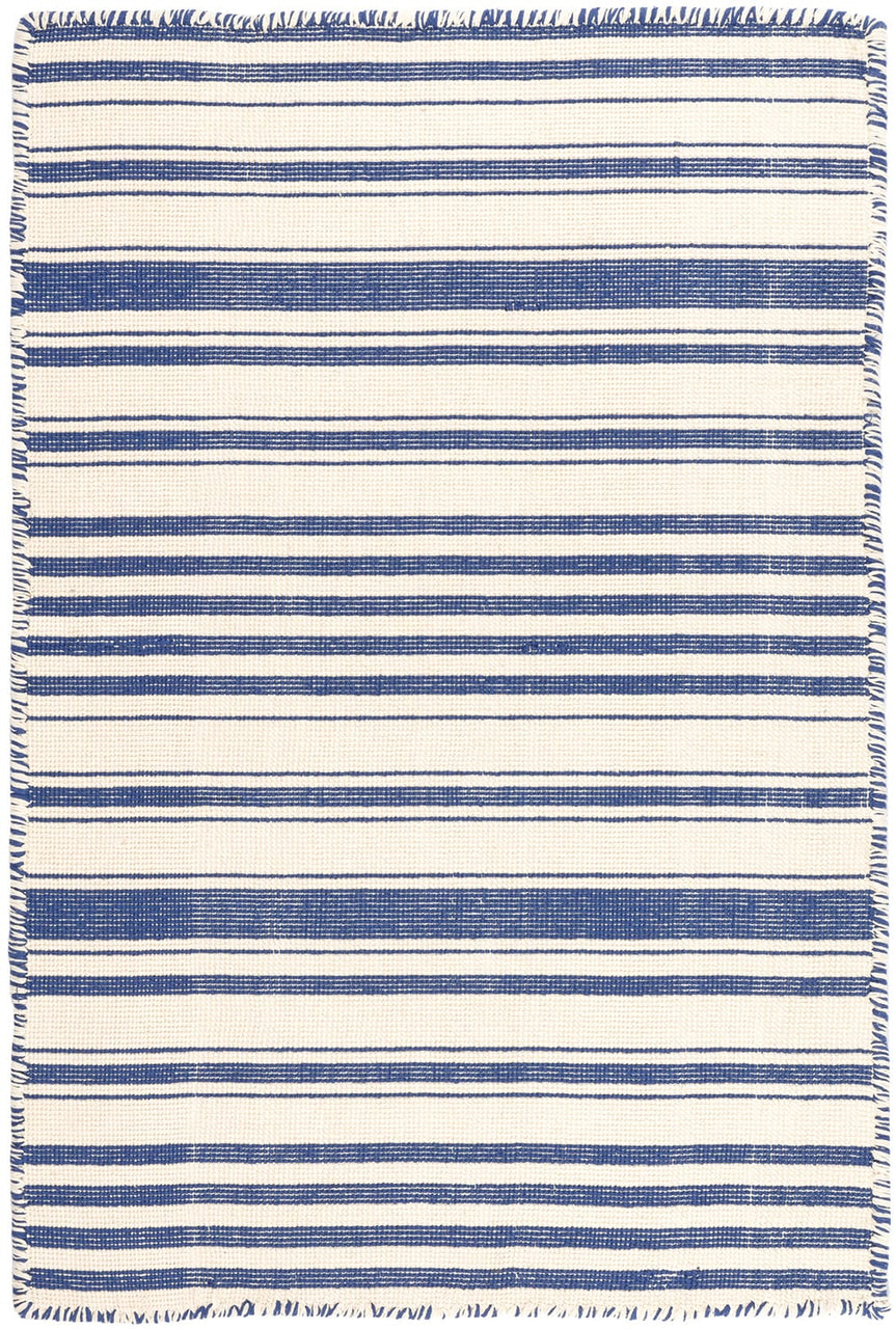 DASH & ALBERT HAMPSHIRE STRIPE WOVEN COTTON RUG-Exeter Paint Stores