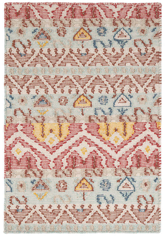 DASH & ALBERT KARA KILIM WOVEN COTTON RUG-Exeter Paint Stores