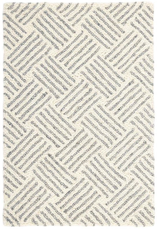 DASH & ALBERT LAYERS HOOKED WOOL RUG-Exeter Paint Stores