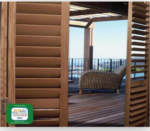 Sussex® NormanTeak™ Shutters