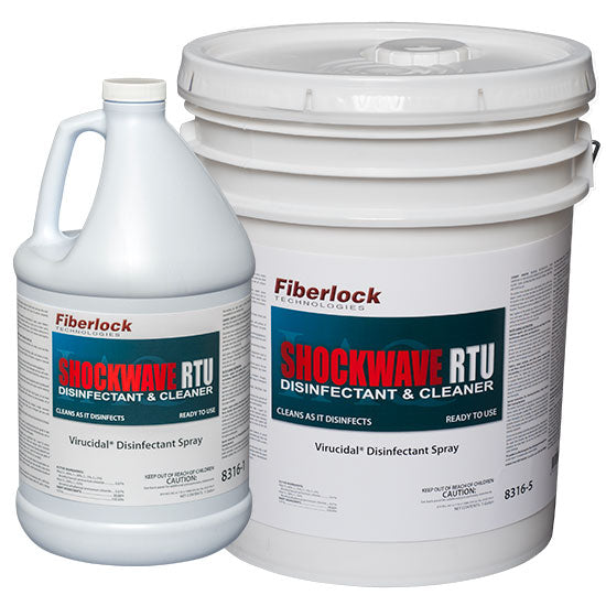 Shockwave RTU READY TO USE DISINFECTANT/SANITIZER