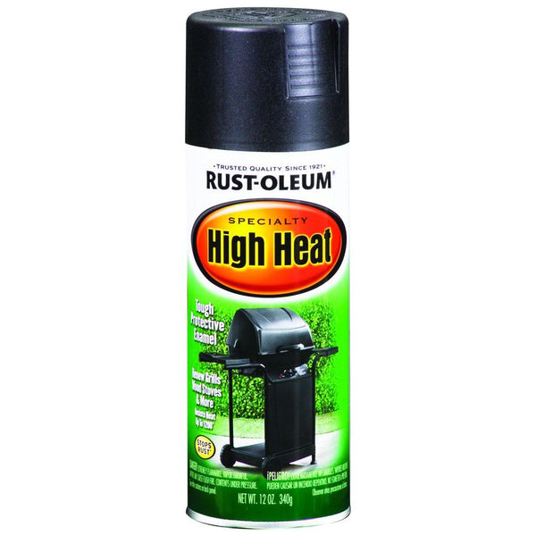Rust-oleum high heat spray paint black 77788-Exeter Paint Stores