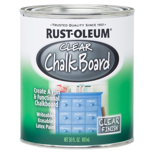Rust-oleum chalk board quart clear 27383-Exeter Paint Stores
