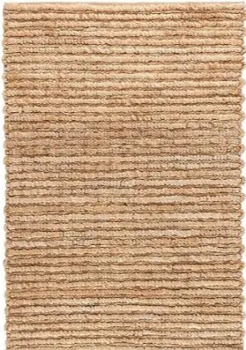 DASH & ALBERT DUNES NATURAL WOVEN JUTE RUG-Exeter Paint Stores